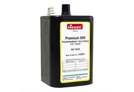 Blockbatterie Nissen Premium 800 4R25 6V 7-9 A/h
