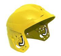 F1 XF Helmschale, M, lackiert - Gelb Art. Nr. GA1090-JDM