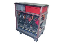 HAUTLE Atemschutz-Modulwagen Typ 1