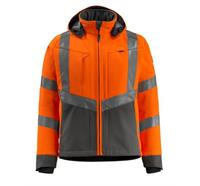 MASCOT® Softshelljacke Blackpool leuchtorange/dunkelanthrazit - XL