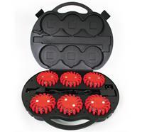 POWERFLARE® Koffer, Akku - Rot
