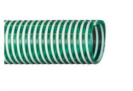 Saug- und Druckschlauch hellgrün, Aussen: 86mm / Innen: 76mm