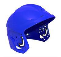 F1 XF Helmschale, M, lackiert - Blau