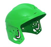 F1 XF Helmschale, M, lackiert - Grün