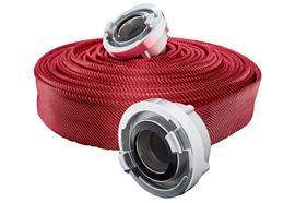 Feuerwehrschlauch G&H© TITAN 3F Rot 75mm