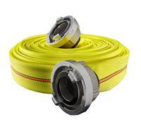 Feuerwehrschlauch G&H© TITAN 3F Neon 52mm - 10 m