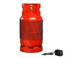 FireWare Elektrische Übungsgasflasche, rot