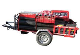HAUTLE Motorspritzen - Anhänger, hydraulisch absenkbar