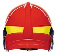 Kadermarkierungsstreifen, für Helm F1 XF, leuchtgelb - M
