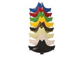 Kennzeichenschild für F1 XF Helm Art. Nr. GA1150-xx