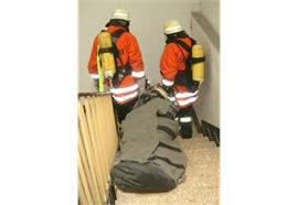 Rettungsschleifsack s-2-s fire, Klettversion