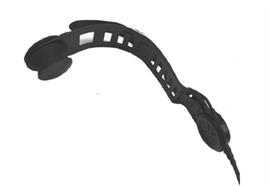 SAVOX® HC-1 Bügel lang, Spiralkabel