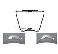 Sichtscheibe MSA© G1 Maske - Kennzeichnung P: Maske mit Standardscheibe Art. Nr. 10168597-SP