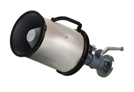 AWG© Lance à mousse avec robinet à boisseau sphérique grande 400l/m