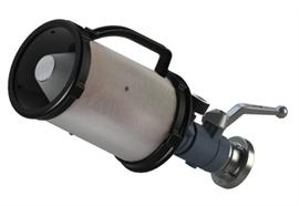 AWG© Lance à mousse avec robinet à boisseau sphérique petite 200l/m