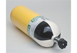 Bouteille à air comprimé en acier MSA© 6l/300 bar, vide