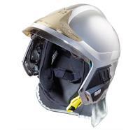 Casque de pompier MSA© Gallet F1XF Taille: L - metallisiert
