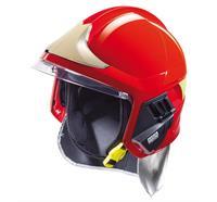 Casque de pompier MSA© Gallet F1XF Taille: L - Rot