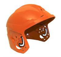Coque de casque F1 XF, L, laquée - Orange