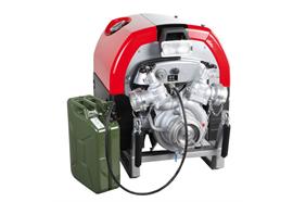 Fonctionnement ininterrompu du pulvérisateur à moteur UP 4