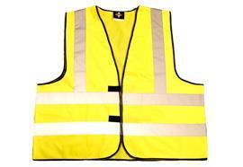 Gilets de signalisation EN20471 (jaune vif)