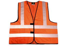 Gilets de signalisation EN20471 (orange)