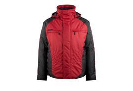 MASCOT® Veste imperméable Frankfurt (rouge/noir)