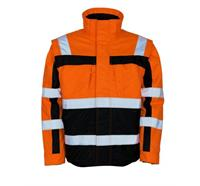 MASCOT® Winterjacke Loreto orange - XL