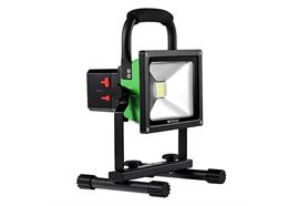 Nordride Projecteur de travail COB LED 30W rechargeable