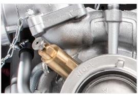 Soupape de surchauffe pour la seringue du moteur UP 4