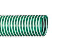 Tuyau d'aspiration et pression, e:86mm / i:76mm - PVC, hellgrün 15.5 m